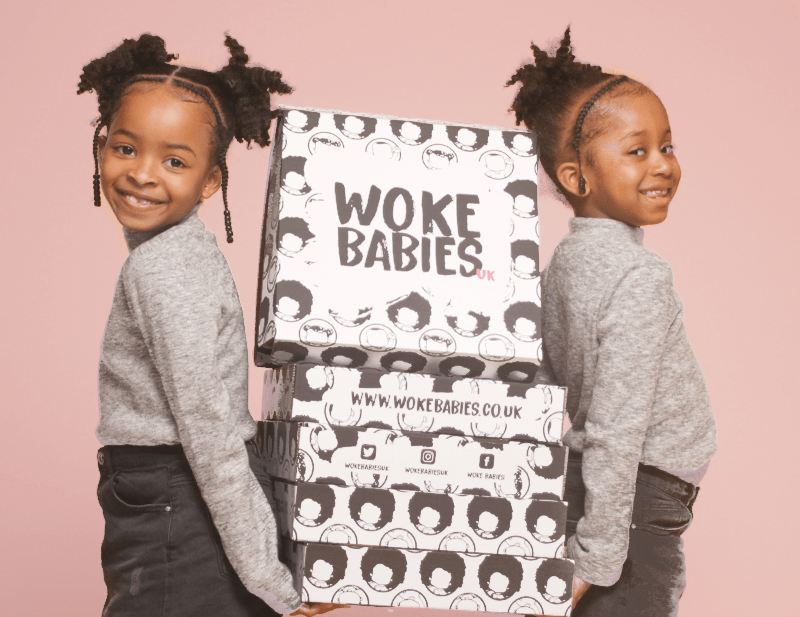 Woke babies - Black children's book subscription
