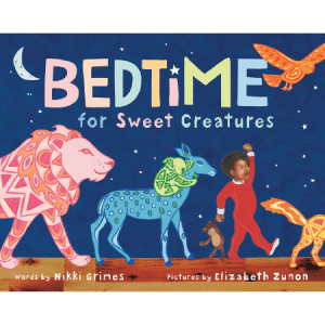 Black children's books - Bedtime for sweet creatures