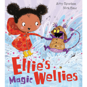 Black children's books - Ellies Magic Wellies